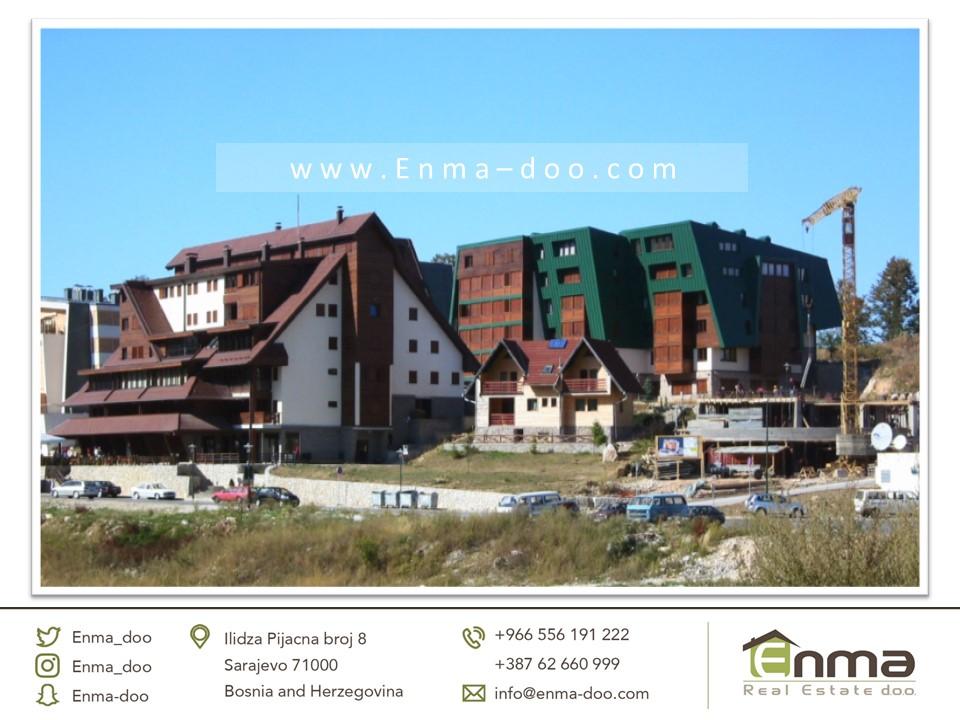 شقة  تمليك 63 م2 في جبل بيلاشنيتسا مناسبة لإيجار بسعر 150000 مارك