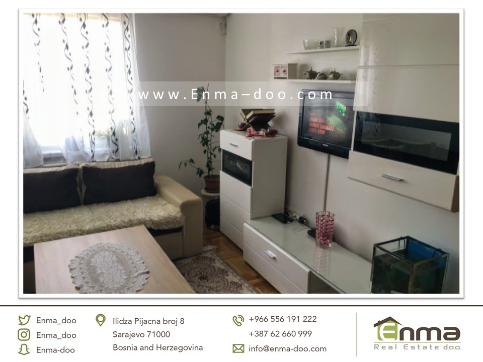 شقة تمليك 40 م2 في سراييفو بأفضل مكان بسعر 93000 مارك